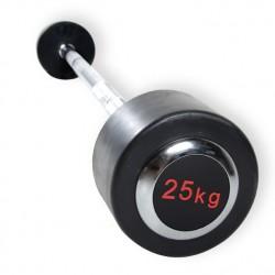 Barra Montada Recta Biceps (Tapa Cromada)