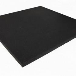 Suelo Compact Floor 25mm Negro liso