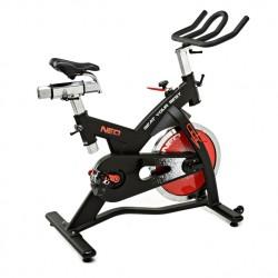 Bicicleta ciclo indoor correa roja