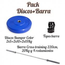 Pack Discos bumper...