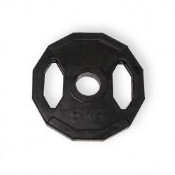 Disco Olímpico 51 mm/ Goma 12 Cantos Agarre Redondo