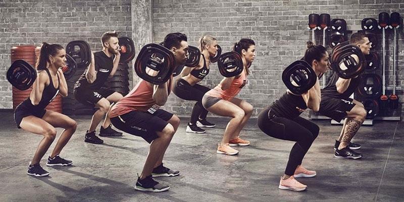 Los ejercicios básicos en una sesión de Body Pump